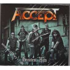 ACCEPT - Greatest Hits (2 CD) in Digipak / Digipack
