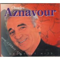 CHARLES AZNAVOUR - Greatest Hits (2 CD) in Digipak / Digipack