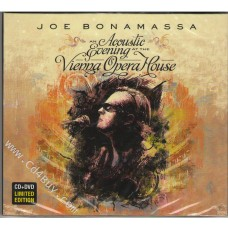 JOE BONAMASSA - Acoustic Evening At The Vienna Opera House (CD/DVD) in Digipak / Digipack