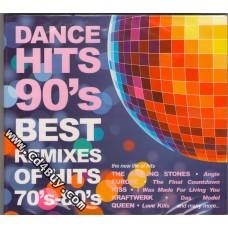 DANCE HITS 90`S - BEST REMIXES OF HITS 70`S-80`S (2 CD) in Digipak / Digipack