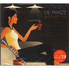 DE PHAZZ - Greatest Hits (2 CD) in Digipak / Digipack