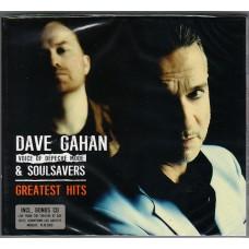 GAHAN DAVE & SOULSAVERS - Greatest Hits (2 CD) in Digipak / Digipack