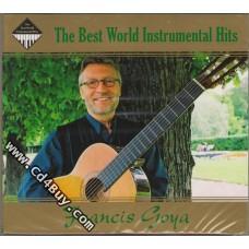 "FRANCIS GOYA - ""The Best World Instrumental Hits"" (2 CD) in Digipak / Digipack"