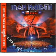 "IRON MAIDEN - ""En vivo! Live At Estadio Nacional, Santiago""  (CD/DVD) in Digipak / Digipack"