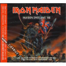 "IRON MAIDEN - ""Maiden England '88"" (CD/DVD) in Digipak / Digipack"