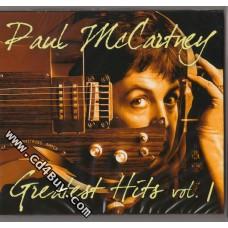 PAUL MCCARTNEY - Greatest Hits Vol.1 (2 CD) in Digipak / Digipack