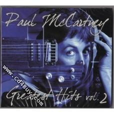 PAUL MCCARTNEY - Greatest Hits Vol.2 (2 CD) in Digipak / Digipack