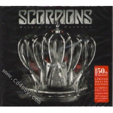 """SCORPIONS - """"Return To Forever CD & MTV Unplugged Live In Athens DVD"""" (CD/DVD) in Digipak / Digipack"""