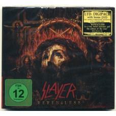 SLAYER - Repentless (CD+DVD in Digipak / Digipack