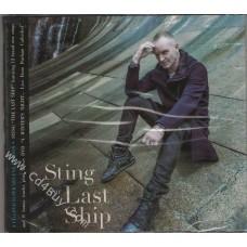 """STING - """"The Last Ship/LIVE"""" (CD/DVD) in Digipak / Digipack"""