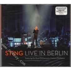 """STING - """"Live In Berlin"""" (CD/DVD) in Digipak / Digipack"""