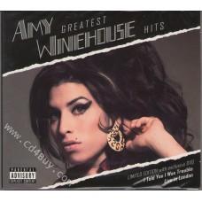 "AMY WINEHOUSE - ""Greatest Hits CD / Live In London DVD"" (CD/DVD) in Digipak / Digipack"